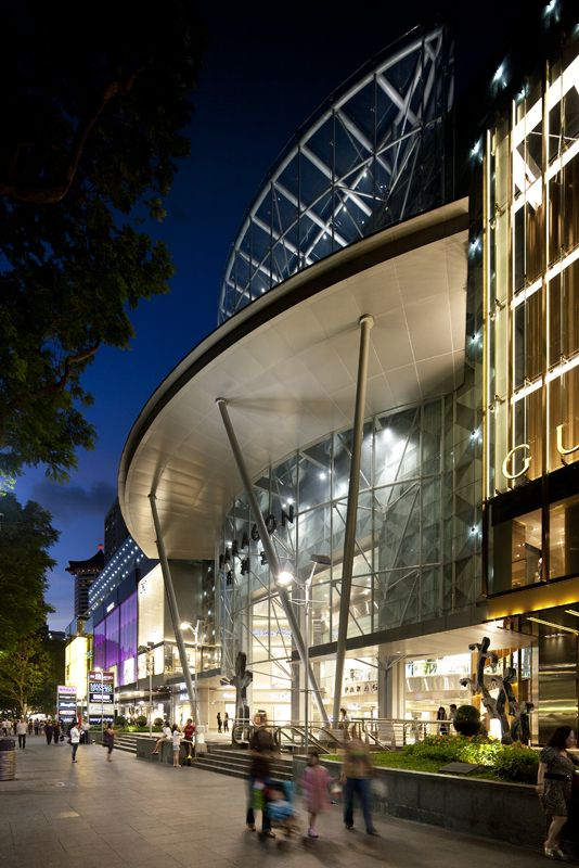 Paragon Shopping Centre Dp Architects Entrance Mall