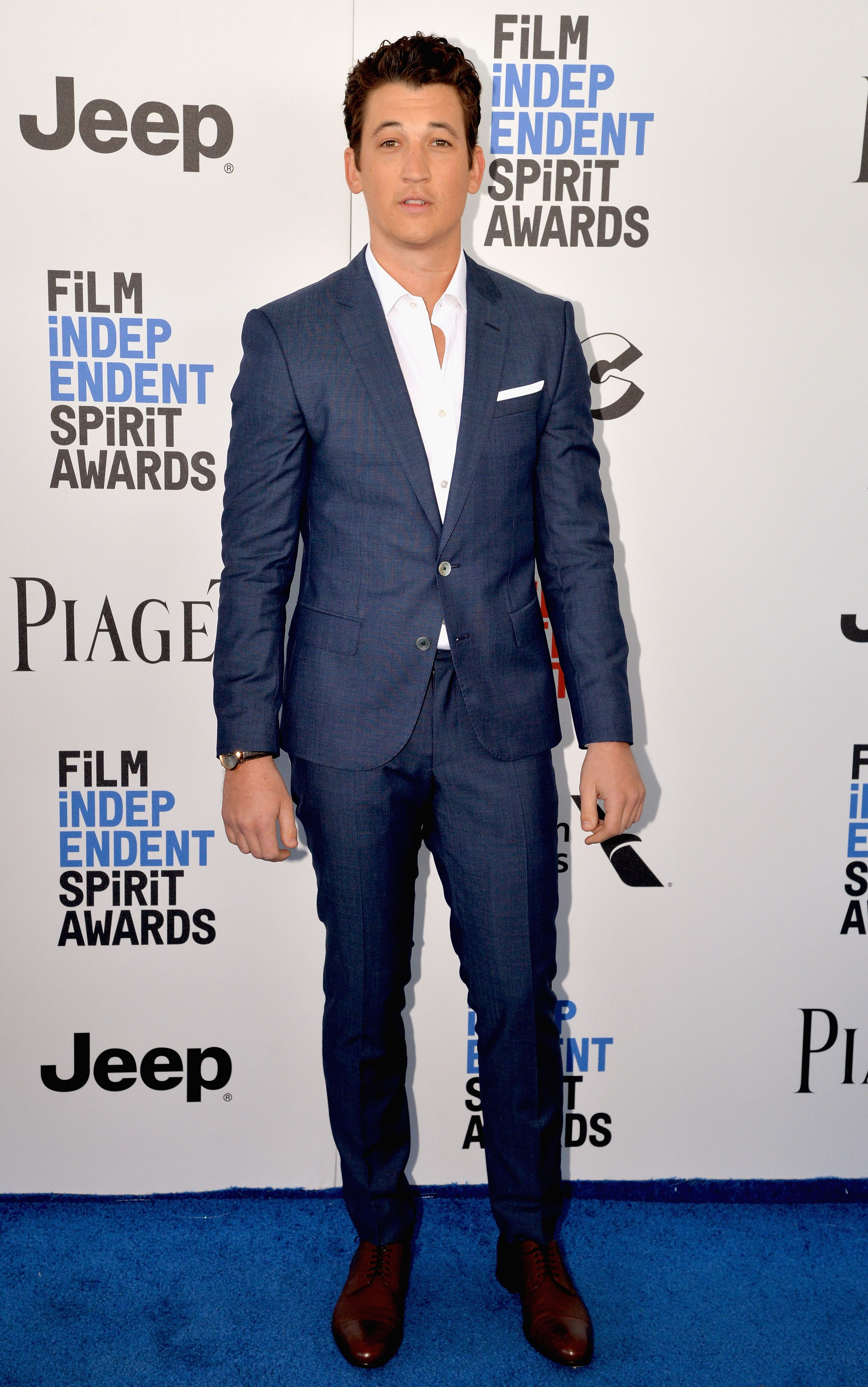 At the Independent Spirit Awards in Santa Monica, Miles