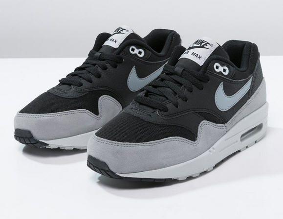Nike Sportswear AIR MAX 1 ESSENTIAL Baskets basses black/dove grey/pure  platinum - Zalando - Ventes-pas-cher.com