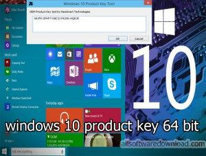 windows 10 product key free download 64 bit crack