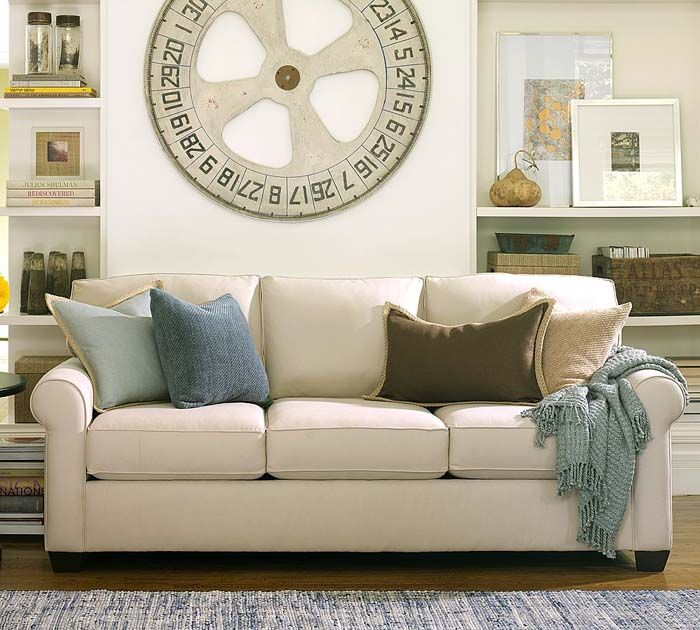 Pottery Barn Couches | ... And Garden: Buchanan Sofa U2013 Living Room Sofa  Design By Pottery Barn