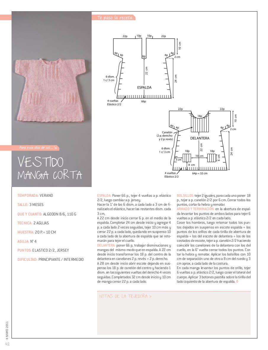 Nube+N%C2%BA+013+%2842%29.jpg (905×1181) | Vestidos bebe crochet ...