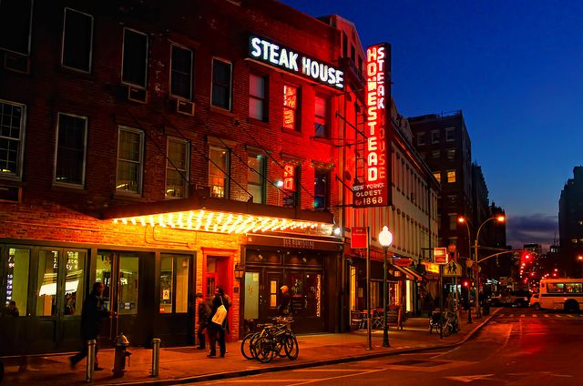 The Old Homestead Steakhouse Iconic Nyc Steakhouse New York City Vacation Nyc Restaurants New York City Travel