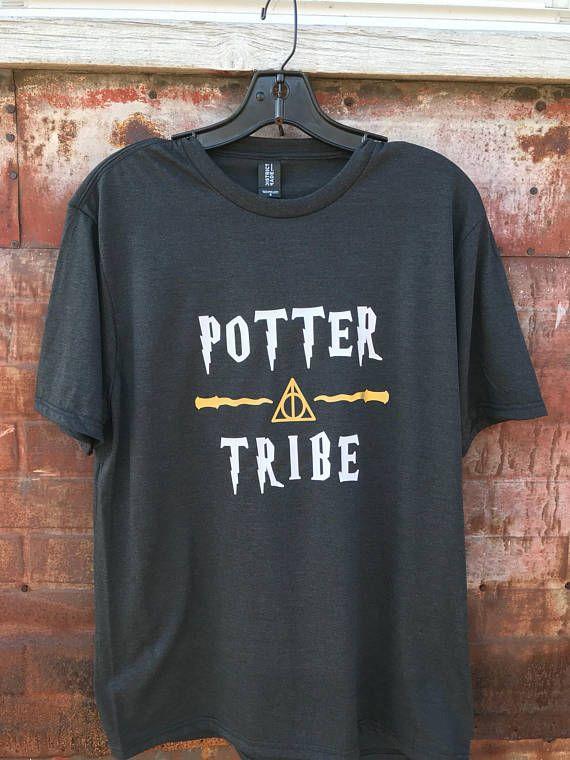 642adb0b82 Potter Tribe Shirt / Universal Studios Shirt / Matching Harry Potter Family  Shirts / Matching Friend