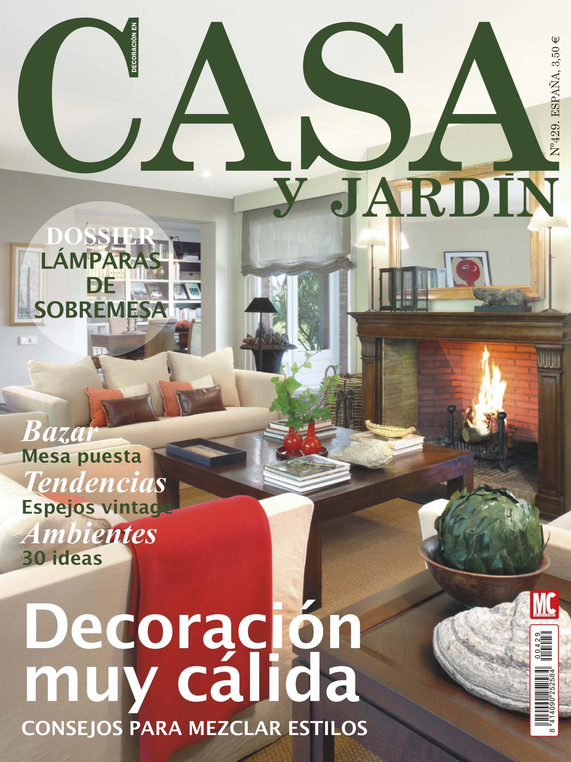 Revista Casa Y Jardin 429 Decoracion Muy Calida Mezclar