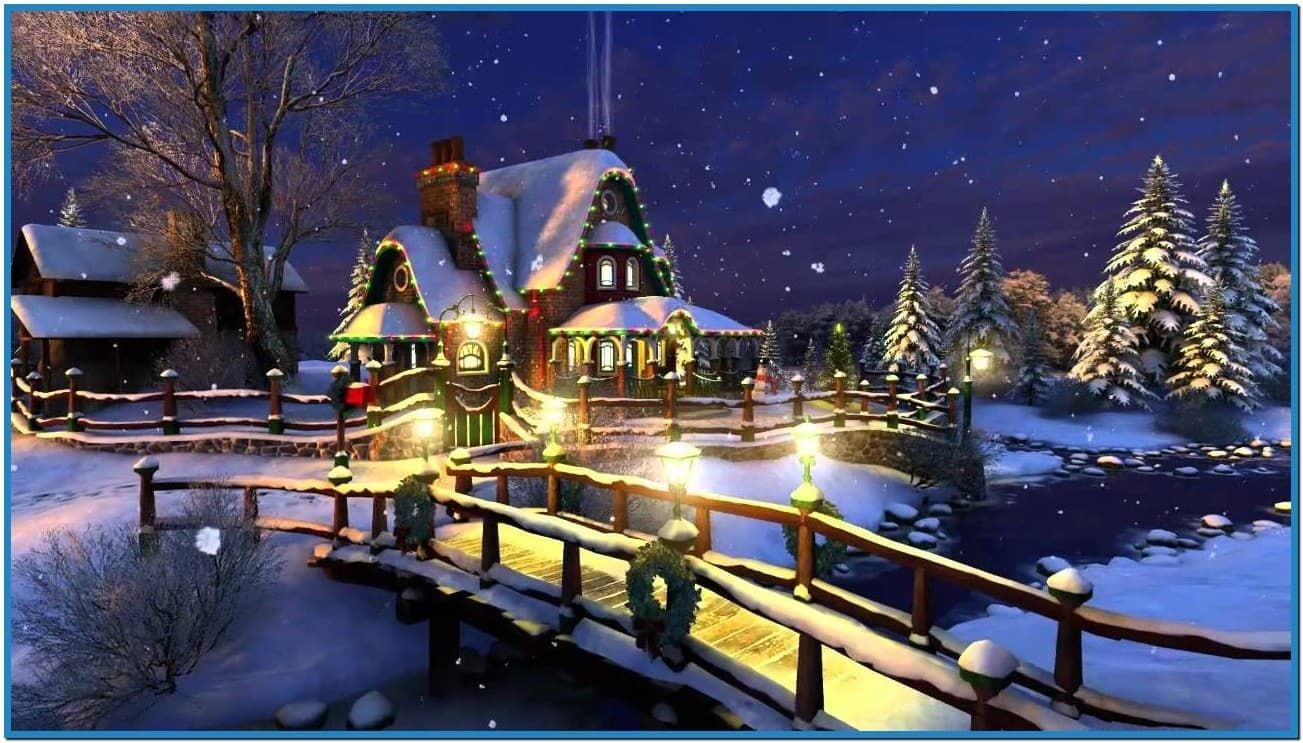 3D Animated Christmas Wallpapers Animated christmas
