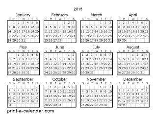 september printable calendar 2018 pdf