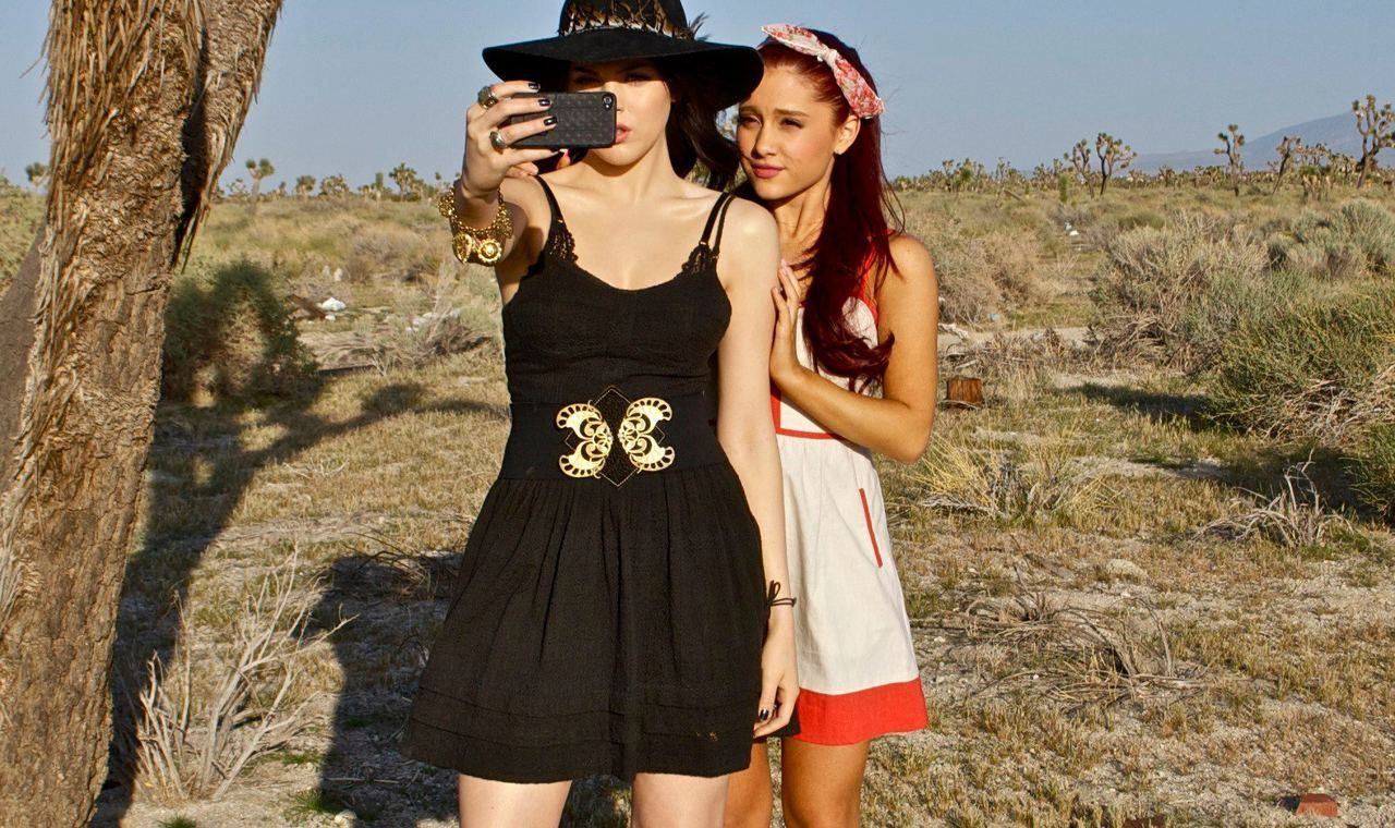 , Ariana Grande and Liz Gillies ♥3 The tumbleweed tumbled awaaaayyy ♥, My Pop Star Kda Blog, My Pop Star Kda Blog