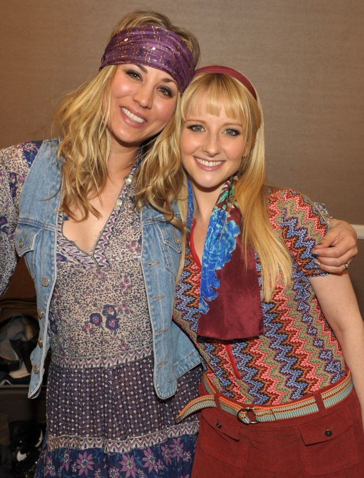 and kaley cuoco Melissa rauch