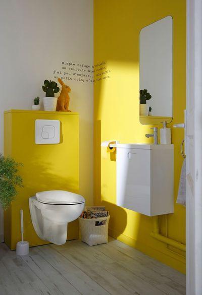Peinture salle de bain  les couleurs tendance Toilet and Bath - quelle peinture pour bois exterieur