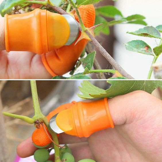 Simplenes Silicone Thumb Knife Garden Gloves » Petagadget#garden #gloves #knife #petagadget #silicone #simplenes #thumb