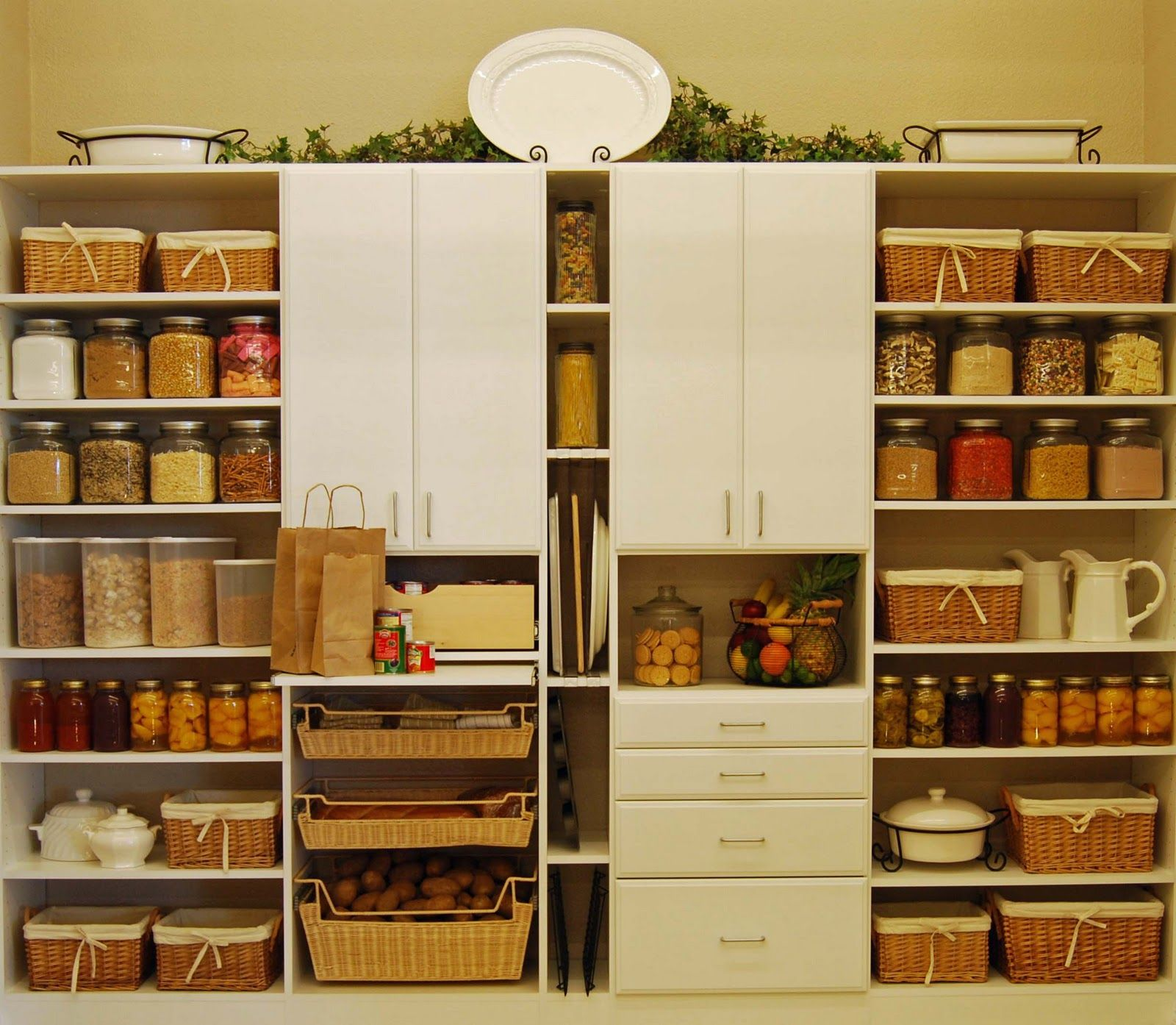Kitchen Pantry Ideas With Form And Function Pantry Pantry