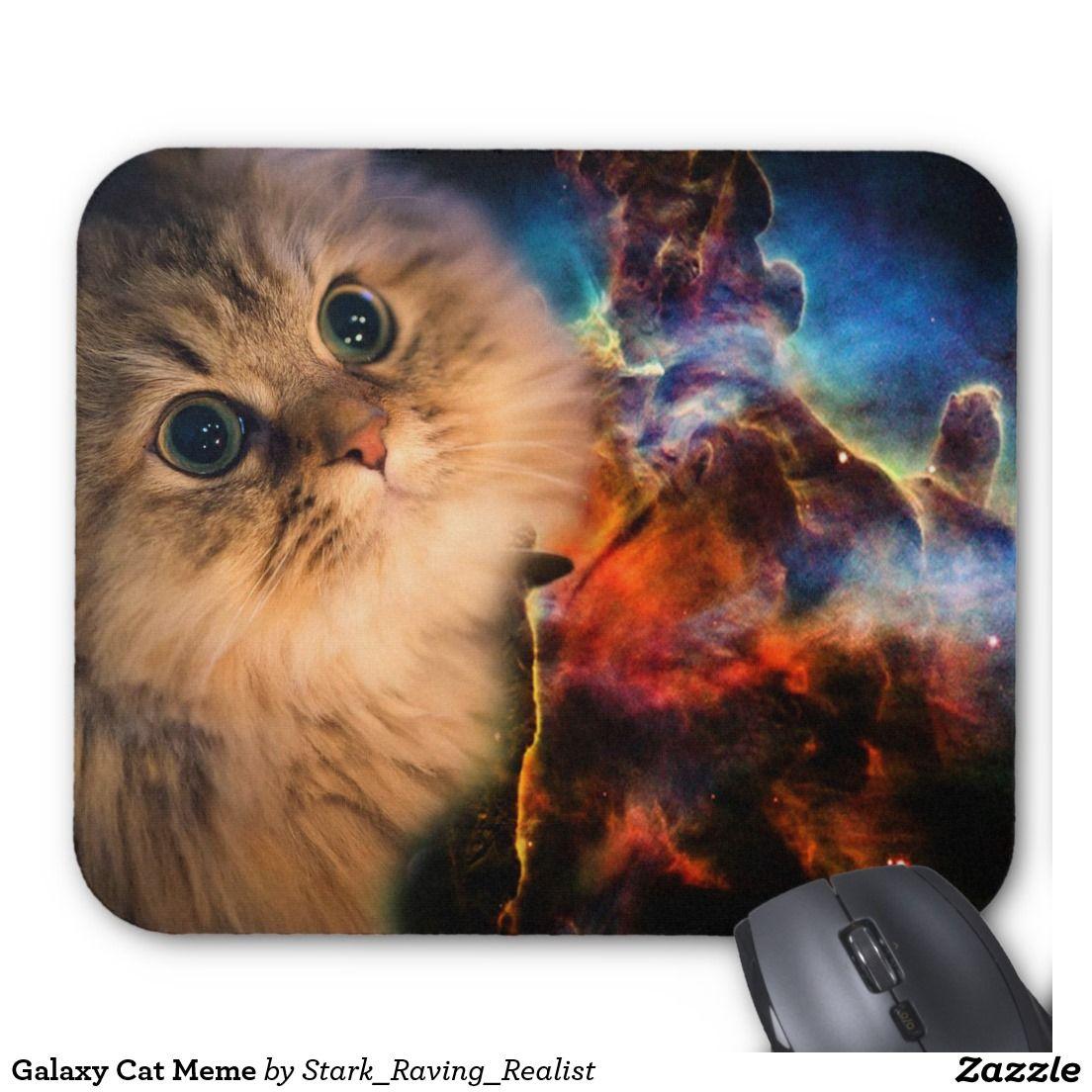 Galaxy Cat Meme Mouse Pad Cat Wallpaper Cat Images Hd Space Cat