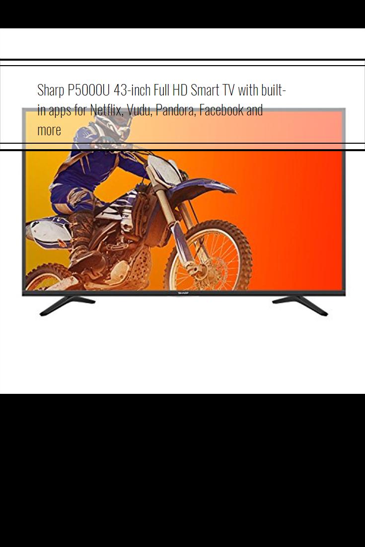 Sharp P5000U 43inch Full HD Smart TV with builtin apps