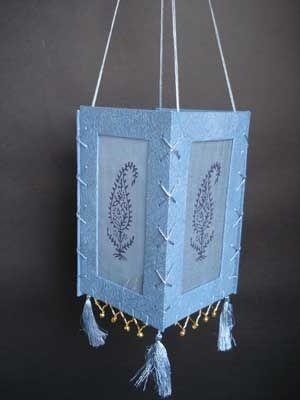 Handmade Paper Island Design Paper Lamp Shade Handmade Paper