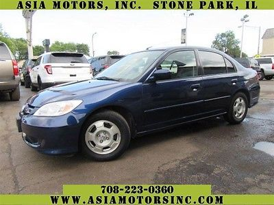 2005 Honda Civic Cvt 2005 Honda Civic Hybrid Cvt 87335 Miles Blue Sedan 4 Dr 1 3l L4 Sohc 8v Hybrid A Suv Car Suv Car