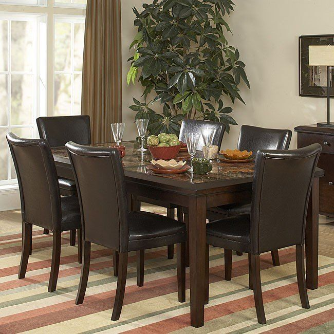 Dining Room Furniture Online: Belvedere Dining Room Set With Extension And 3 Chair