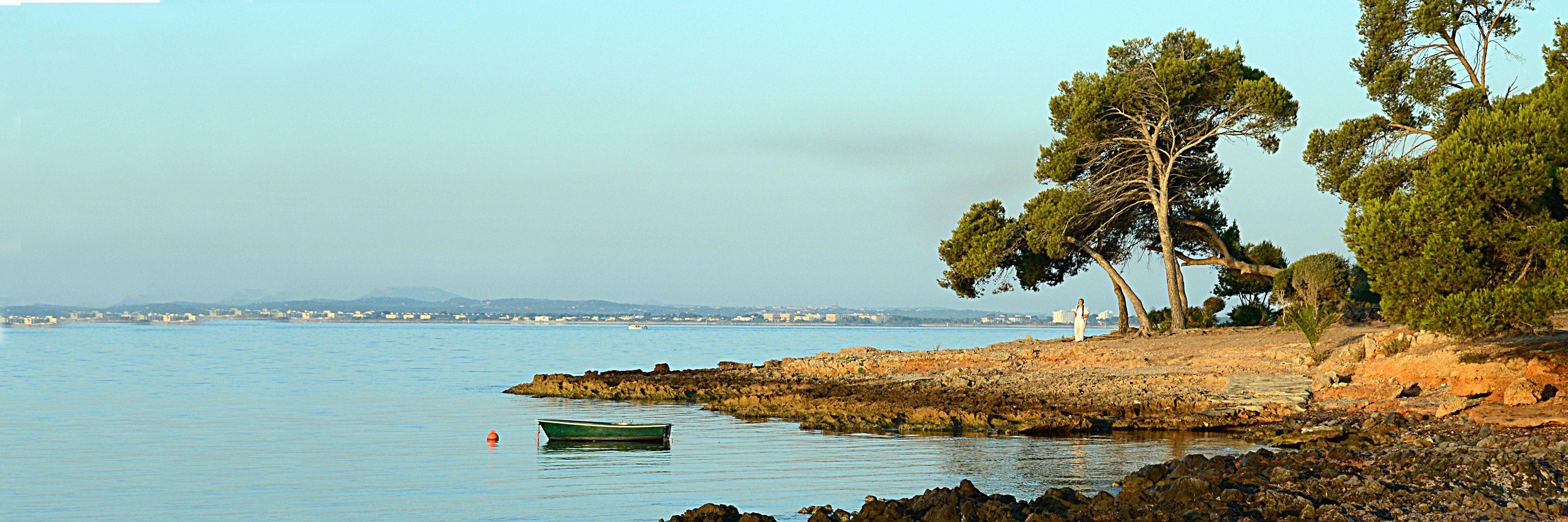 Mallorca Alcanada morning sea Майорка Альканада утро