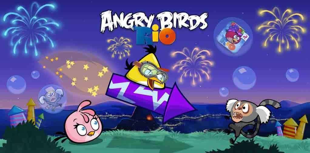 Angry Birds Rio App Angry Birds