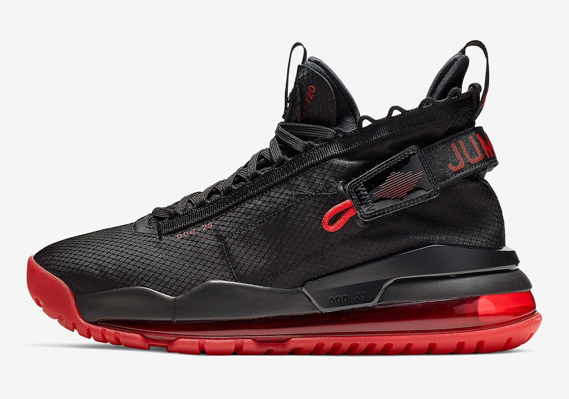 best service a07ea fc605 The Jordan Proto Max 720 Gets Hit In A Classic Black And Red