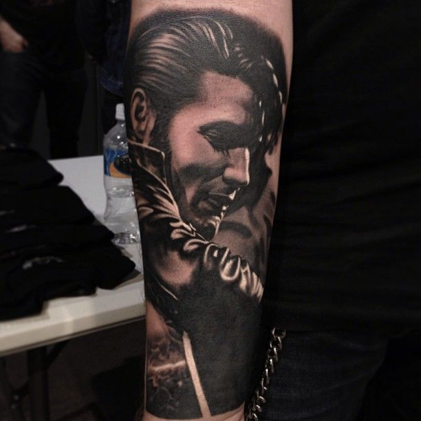 Not An Elvis Fan Really....but This A Nikko Hurtado Tattoo