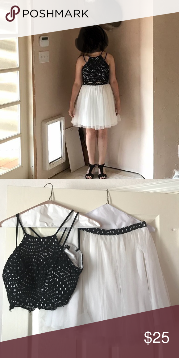 Two Piece Semi Formal Dress Semi Formal Dresses Heart Dress And