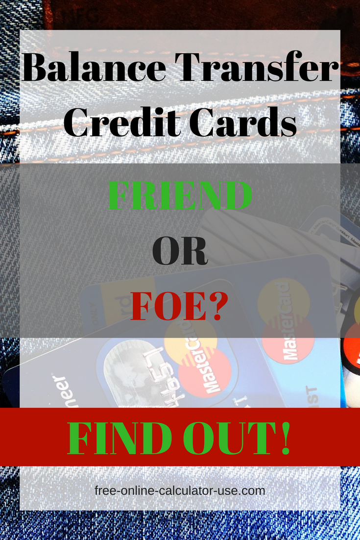 Balance Transfer Calculator: Will Credit Card Offer Save Money ...