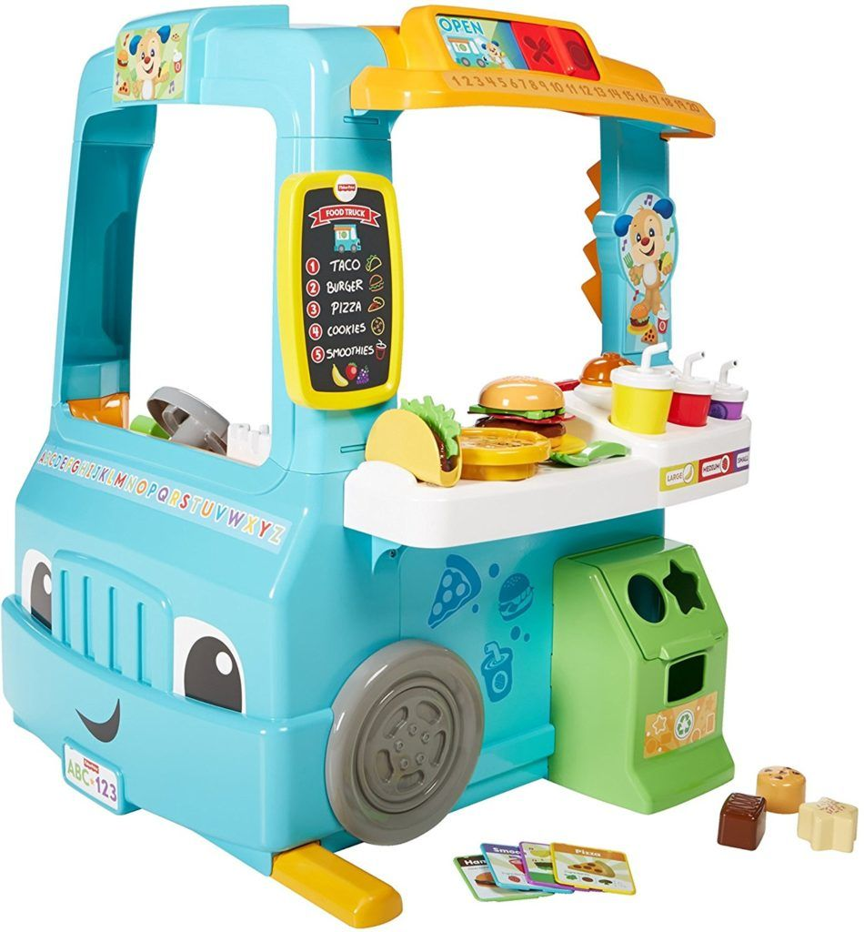 Amazon: Fisher-Price Laugh & Learn Servin\' Up Fun Food Truck $57.99 ...
