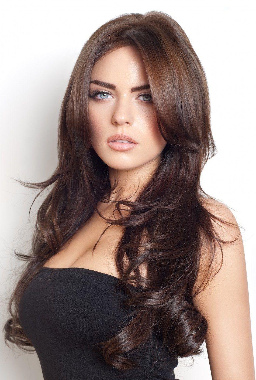 Коричневый цвет волос картинки