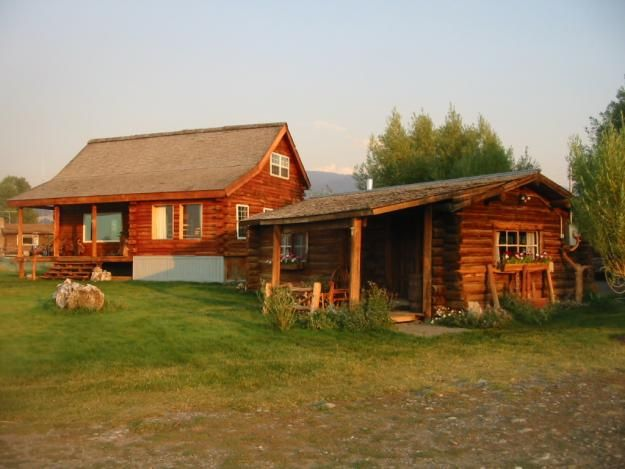 owner cabin com by creek beautifully restored rentals cabins vacation fish byowner wilson wyoming