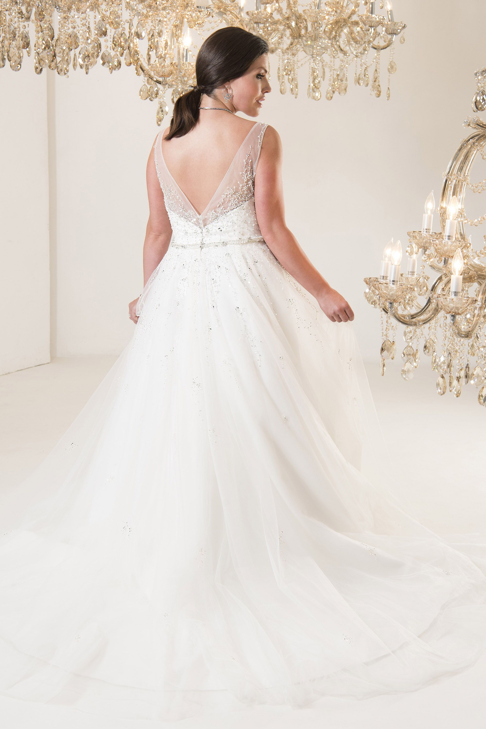 Michelangelo | Callista Plus Size Wedding Dresses | vestidos | Pinterest