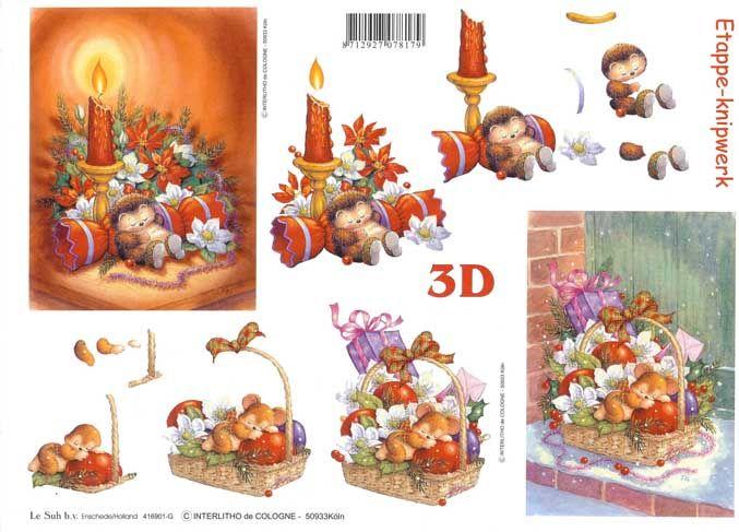 how to make a 3d hedgehog