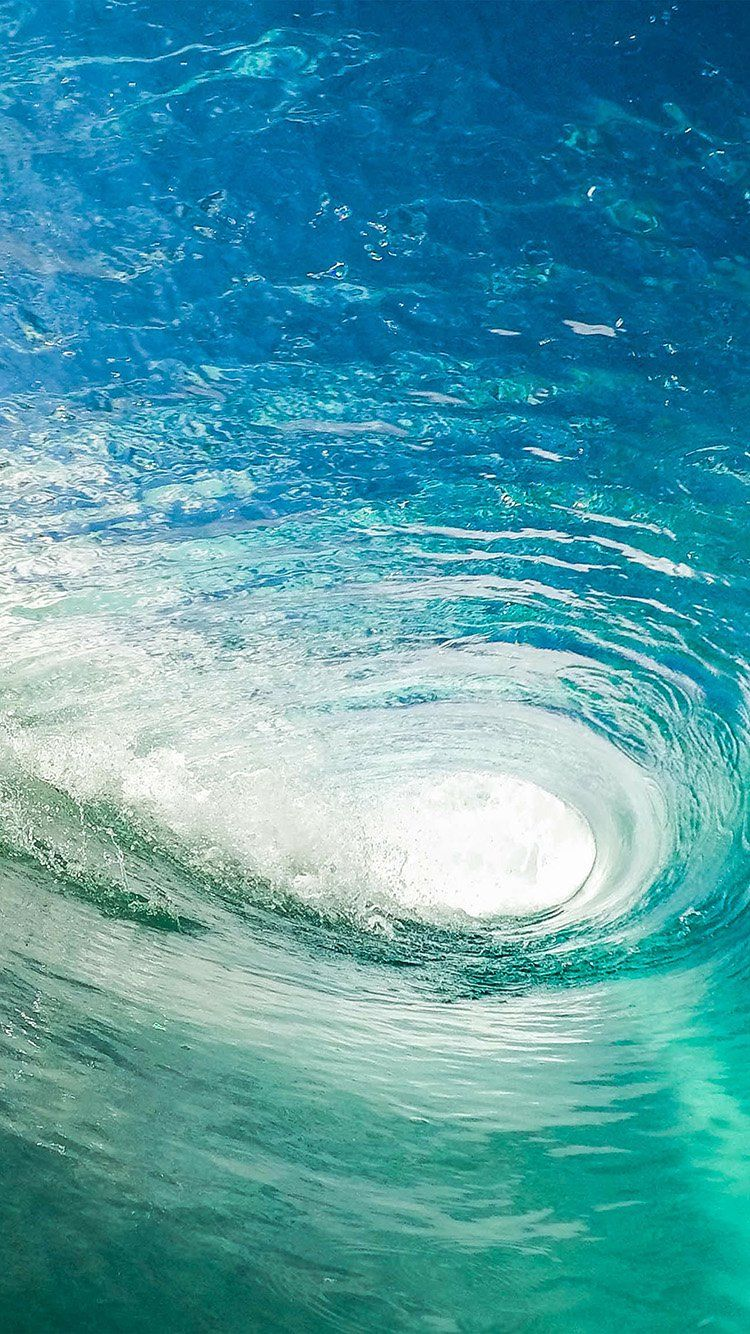 Wave Cool Summer Vacation Ocean Blue Green Wallpaper Hd