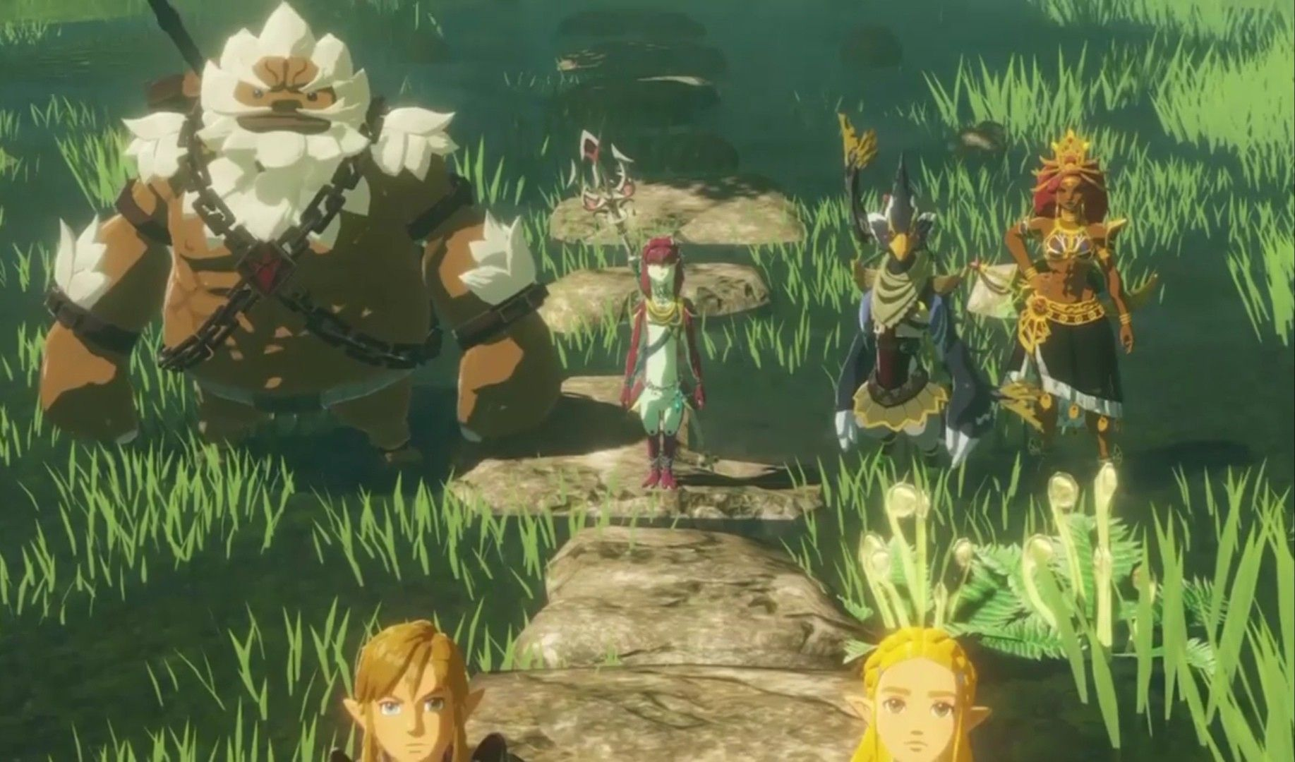 Н'𝐇𝐀𝐌𝐏𝐈𝐎𝐍𝐒 Age Of Calamity Hyrule Warriors Legend Of Zelda Breath Breath Of The Wild