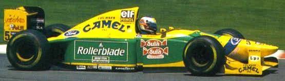 1993 Michael Schumacher, Benetton B193B Ford