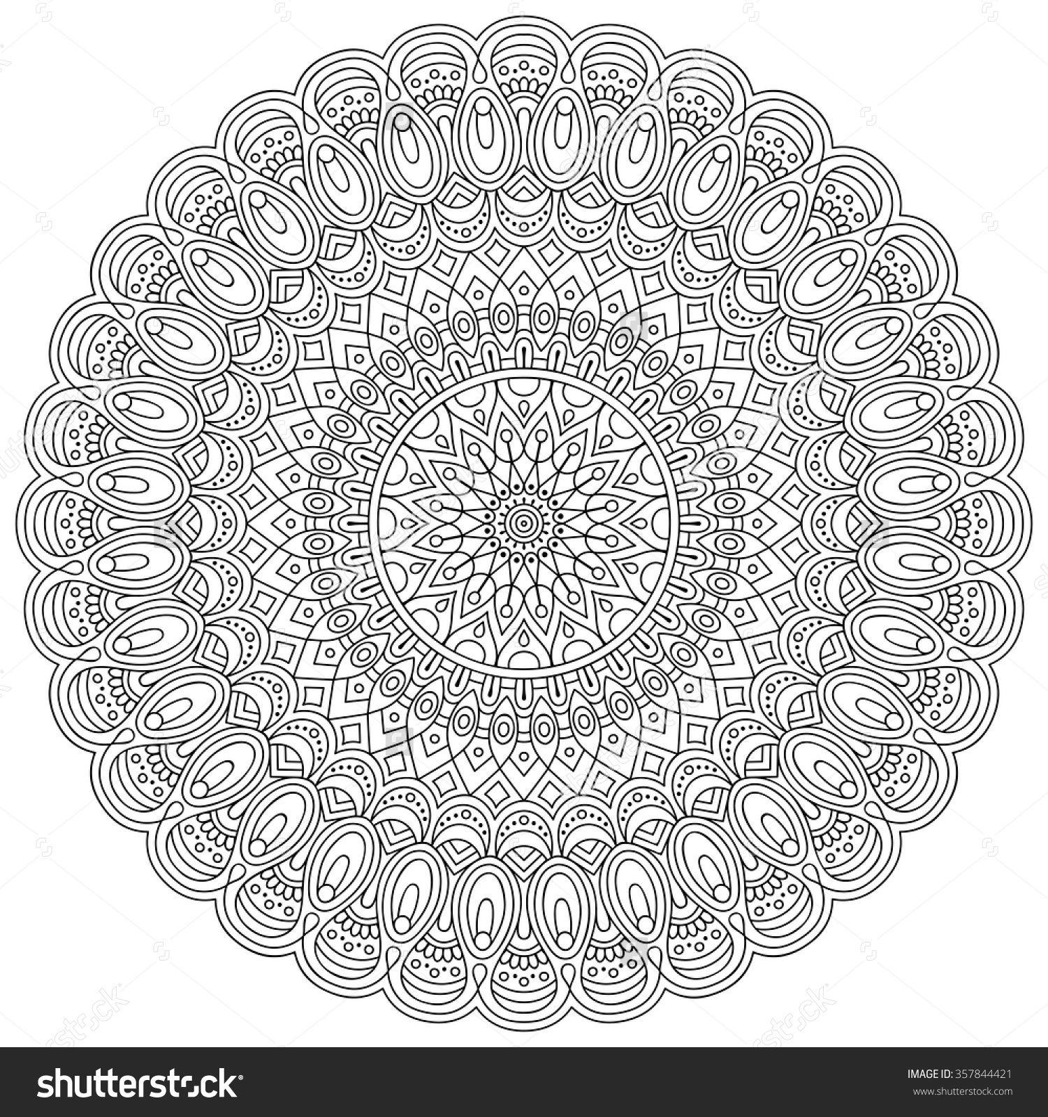 gunston coloring pages   Mandala. Vintage Decorative Elements. Oriental Pattern ...
