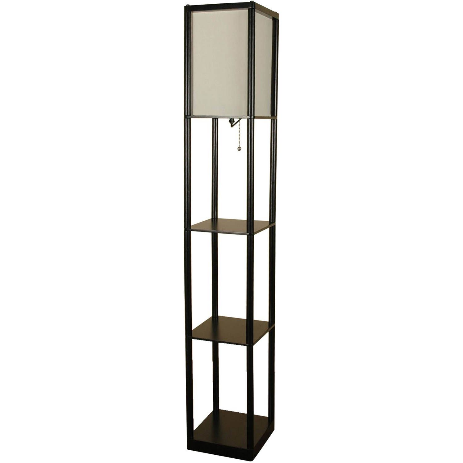 How To Enhance Your Home S Overall Feel And Look With A Standing Lamp Darbylanefurniture Com In 2020 Floor Lamp With Shelves Shelf Lamp Floor Lamp Lighting