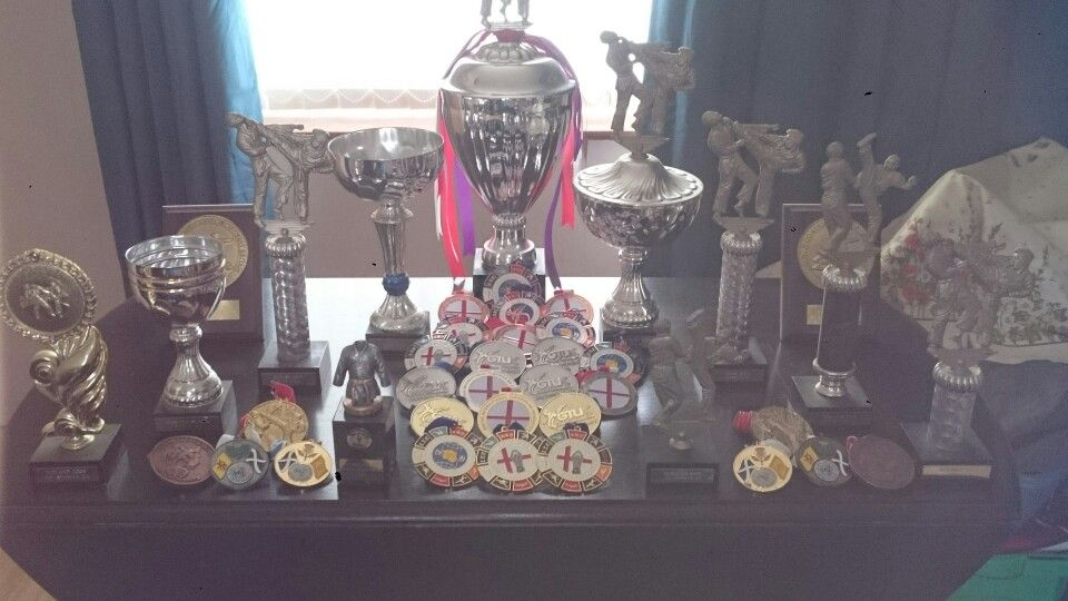 My medals amd trophies to date