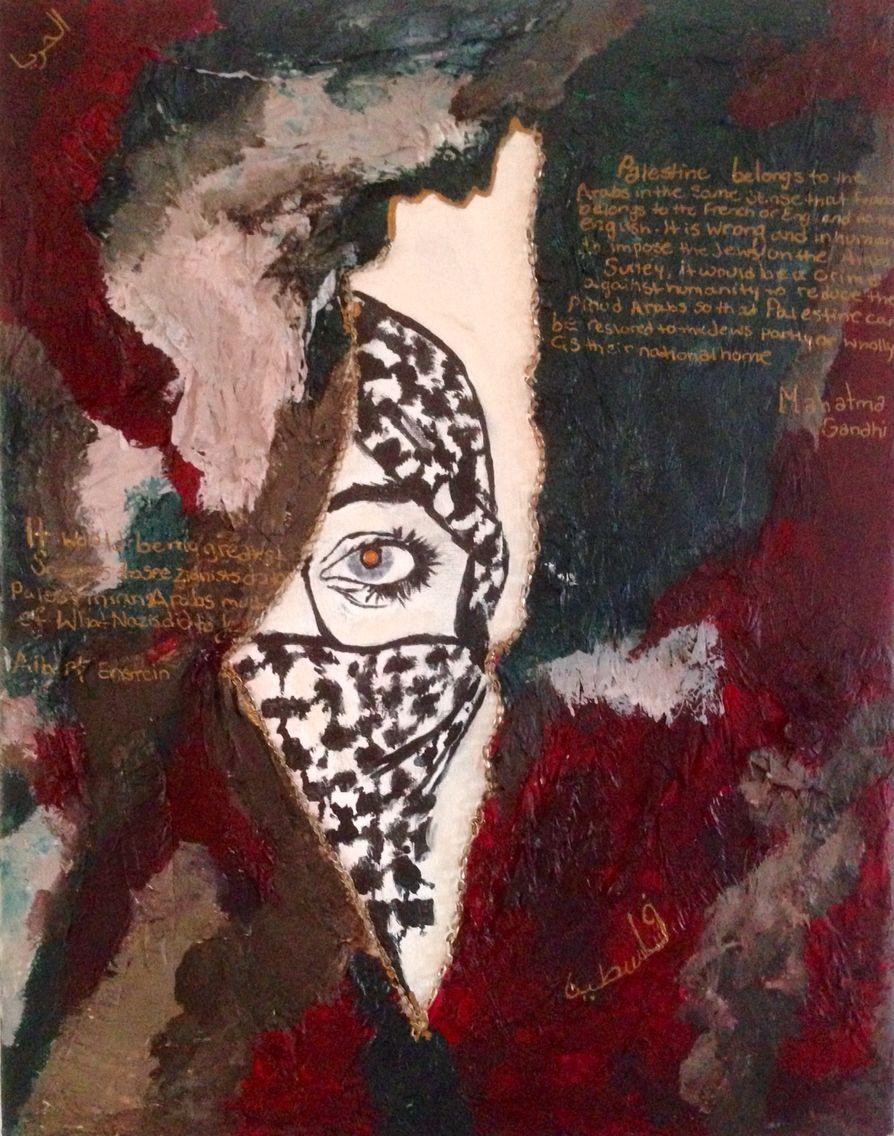 how to wear palestinian keffiyeh