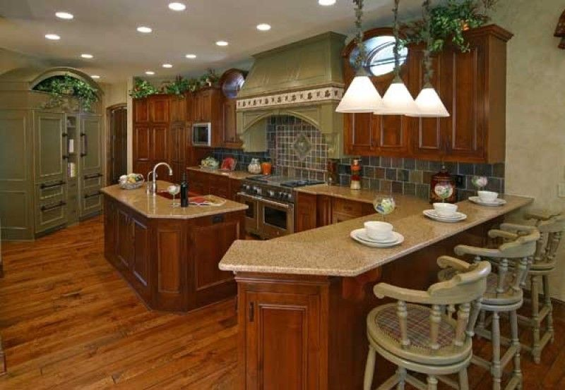 Kitchens Küchen Pinterest Countertop, Kitchens and Outlets