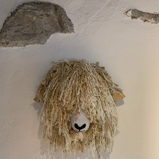 Quality Handmade Unique Wall Mounted Highland Cattle Cow Faux Etsy Handmade Highland Cattle Highland Cow