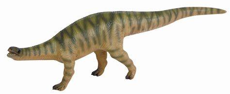 The Plateosaurus dinosaur model introduced by Bullyland into their Museum Line range.