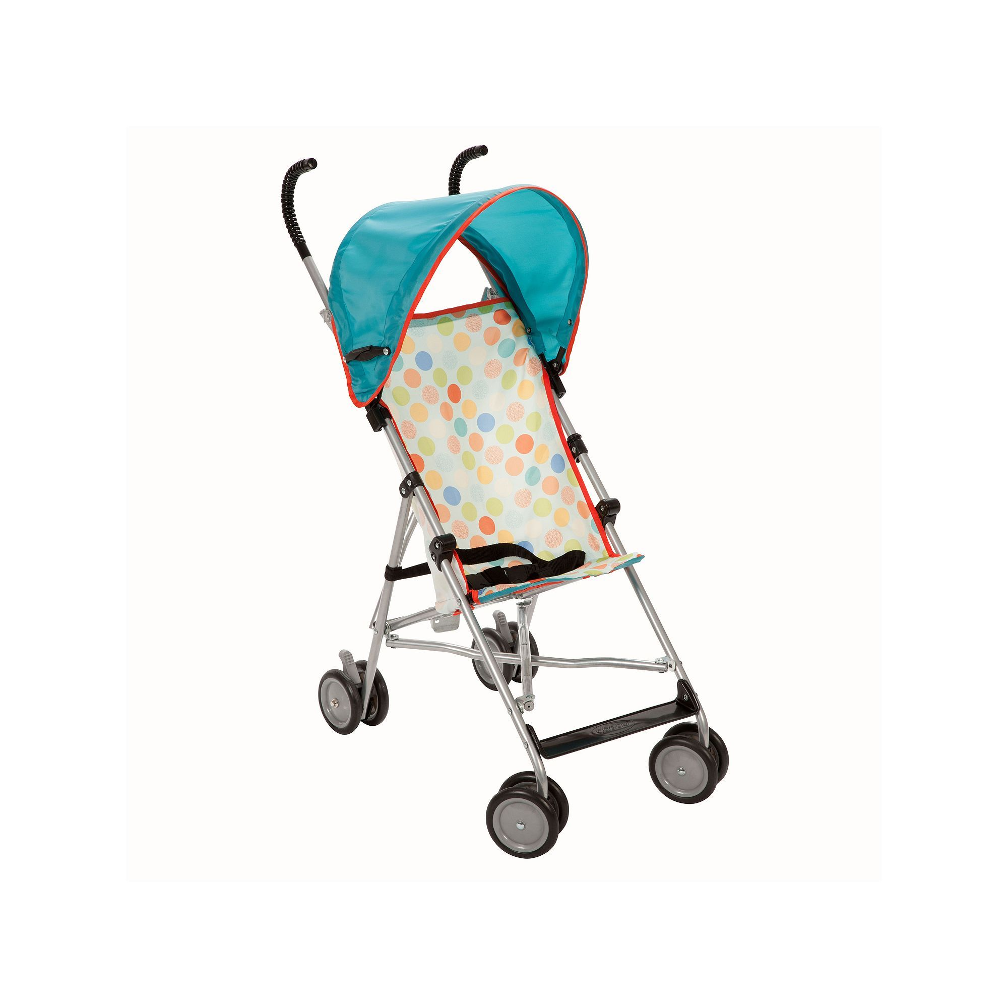 Cosco PolkaDot Umbrella Stroller with Canopy Umbrella