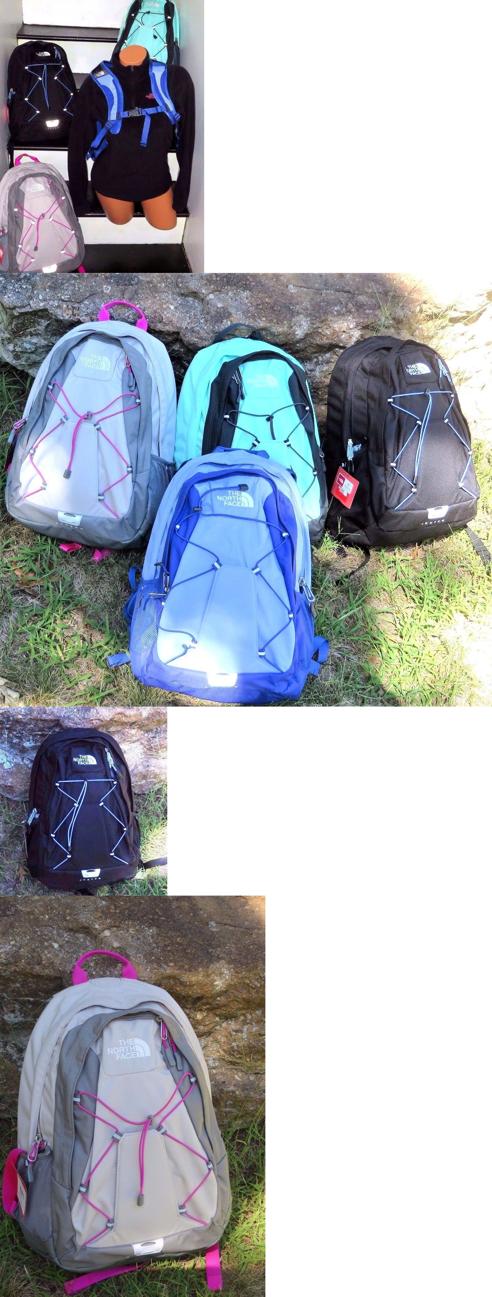Bags And Backpacks 163537 The North Face Backpack Schoolbag Day Pack Gym Book Bag Hiking