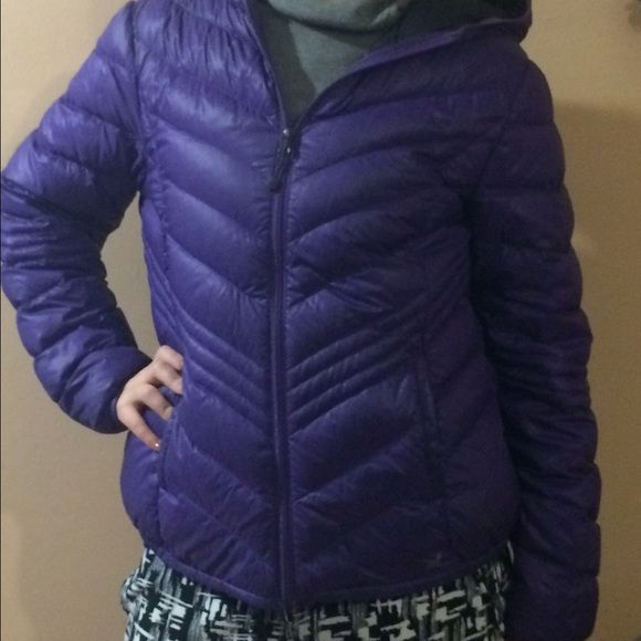 Xersion Premium Down Coat NWOT This extremely lightweight and easy to pack coat is perfect for even the coldest winters! Featuring internal pockets and a hood, it will keep you warm without weighing you down. Xersion Jackets & Coats