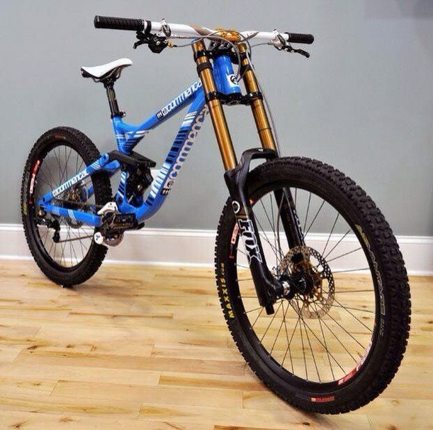 Mountain Bikes Look More Like Motorcycles These Days Downhill