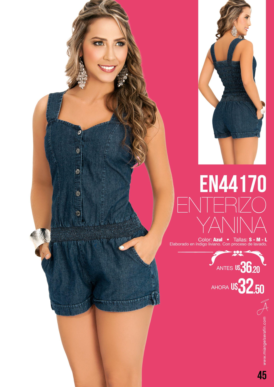 57dfbd02d28 Enterizo Yanina Bragas De Moda
