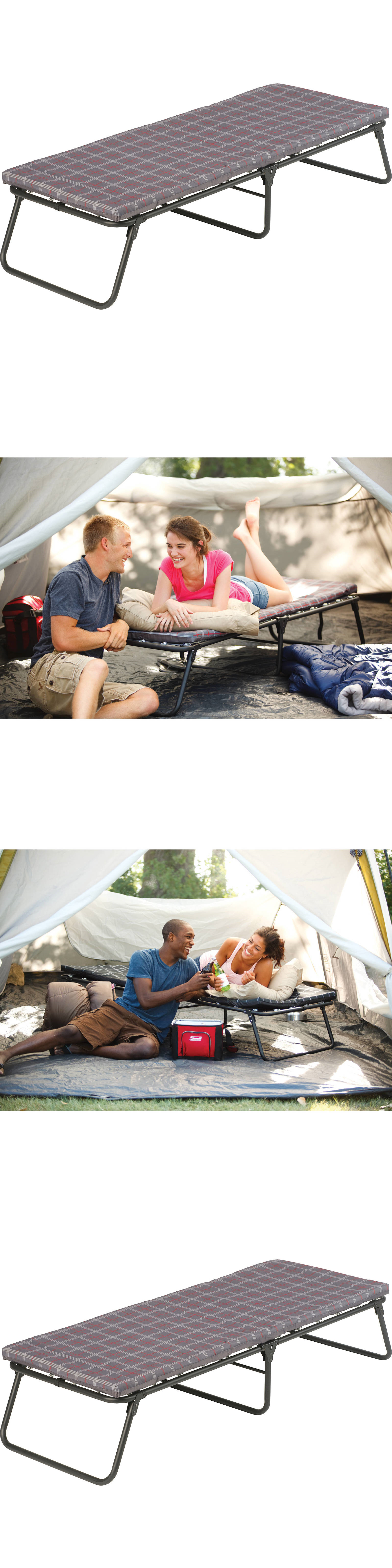 cots 87099 coleman comfortsmart folding camping cot portable bed