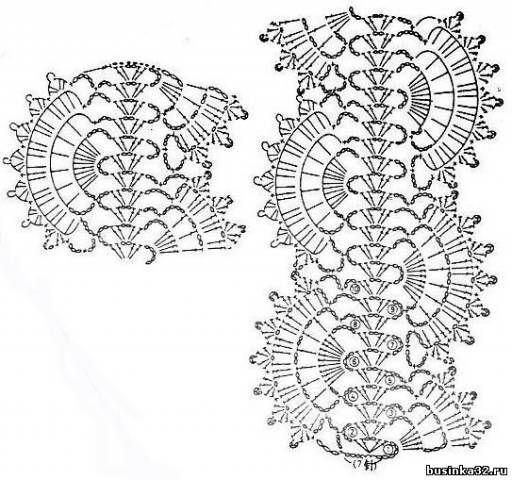Вязание крючком: приемы, узоры - Страница 2 - Форум Бусинки
