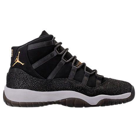 new concept 49ffd 7b47a Girls  Grade School Air Jordan Retro 11 Premium Heiress Collection (3.5y -  9.5y) Basketball Shoes